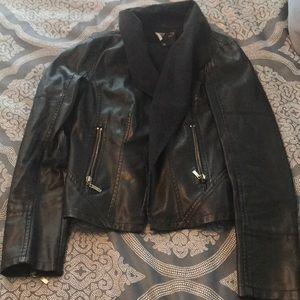 C. Luce Jackets & Coats - Faux leather blazer